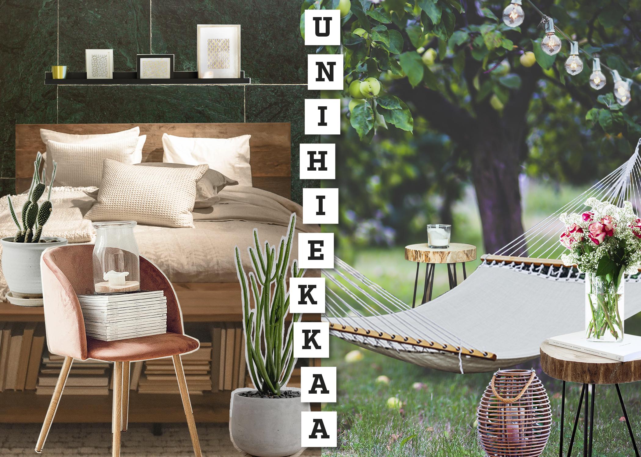 Piha&Koti-messujen Rinnakkain-alueen Unihiekkaa-tilan kuva