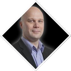 Verkosto-messujen puhuja Mika Kukkola, ABB Oy