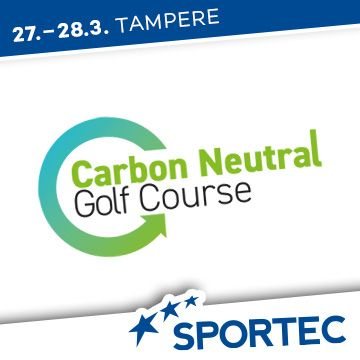 Liikuntapaikka Sportec -messujen ohjelma Carbon Neutral Golf Course