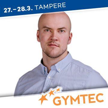 Liikuntapaikka Gymtec -messujen puhuja Pyry Niskala