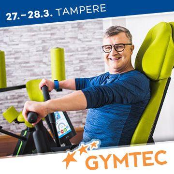 Liikuntapaikka Gymtec -messujen puhuja Hannu Ilmolahti