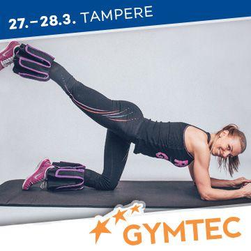 Liikuntapaikka Gymtec -messujen ohjelma Bunda