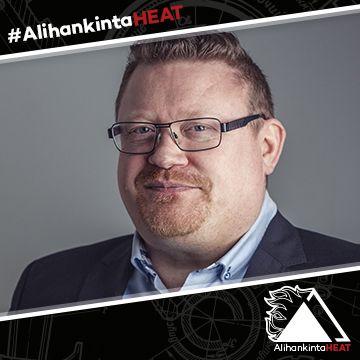 AlihankintaHEAT-messujen puhuja Ilkka Saarinen
