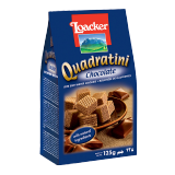 Quadratini Chocolate Wafers -  125G
