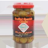 Green Olives red pepper - 190G