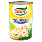 Pieces and Stems Mushroom -  400G