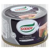 Albacore white meat Tuna in Sunflower Oil -  90G