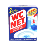Wc Net Blue Blocks Toilet Cleaner - 2 Blocks