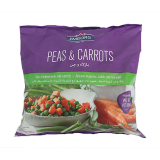 Mixed pease and carrots - 900G