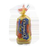 Big & Crusty Plain Bagels - 16.5Z