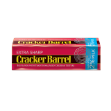 Extra sharp cheddar cheese sticks 2% Milk - 8Z
