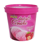Ice Cream Strawberry - 1L