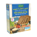 Ten seed rusk with bran - 300G