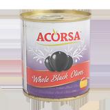 Whole black olives - 100G