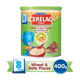 Cerelac Infant Cereal Wheat & Dates Pieces - 400G