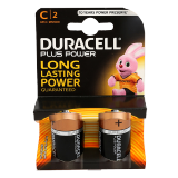 Plus Power C Batteries -  2 Batteries