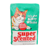 Kitty White Premuim White Cat Litter Super Scented -  9.07Kg