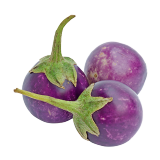 Roud Small eggplant - 500 g