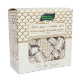 White sugar wrapped cubes - 500G