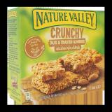 Crunchy Oats & Roasted Almonds Bars - 42G