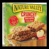Crunchy Oats & Apple Bars -  12 x 42G