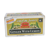 Ginger Tea with Lemon - 25 count