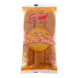 Hot Dog Bread -  6 Pieces 360G