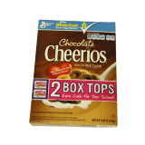 Chocolate Cheerios cereal - 11.25Z