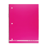 One subject wide ruled notebook 90 sheets - 1PCS