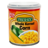 Whole Kernel Corn Ready To Eat Spoon Included -  8Z