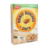 Honey Bunches of Oats Vanilla bunches - 18Z