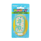 Birthday Numeral Candles #9 - 1PCS