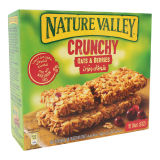 Crunchy Oats & Berries Bars - 42G