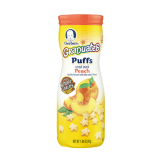 Puffs Cereal Snack peach - 1.48Z
