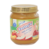 Peach and apple baby food - 120G