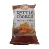 Cooked BBQ Flavored Potato Chips - 6.5Z