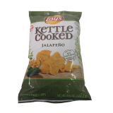 Cooked Jalapeno Flavored Potato Chips - 6.5Z