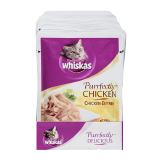 Whiskas Purrfectly Chicken Entrée Cats Food - 85G