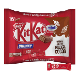 Chunky Mini Milk Chocolate Bar Snack Bag -  16 Minis