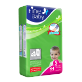 Fine Baby Diapers Maxi 10 - 22 Kg Size 5 Jumbo Pack - 44 Diapers