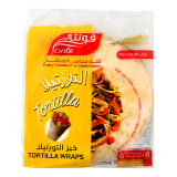 Tortilla Wraps -  8 Inch 6 Pieces 250G