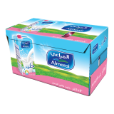 Long Life Fat Free Milk - 12 × 1L