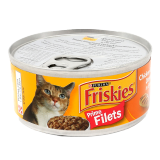 Prime Fillet Chicken & Tuna Cats Food -  156G