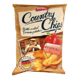 Country Chips Kettle Cooked German Potatoes Paprika -  125G