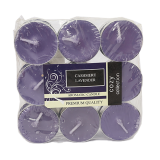 Tea Candles Cashmere Lavender - 18PCS