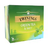 Green Tea & Mint Tea Bags -  50 Pisces