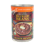 Light in Sodium Organic Refried Black Beans - 14.5Z