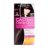 Casting Creme Gloss 200 Ebony Black Haircolor -  1 Count