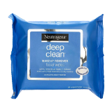 Deep Clean Makeup Remover Facial Wipes -  25 Wipes