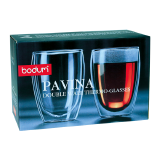 Pavina double wall thermo glass - 2 PCS